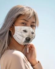 Amazing Golden retriver Cloth face mask aos-face-mask-lifestyle-19