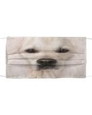 Amazing Golden retriver Cloth face mask front