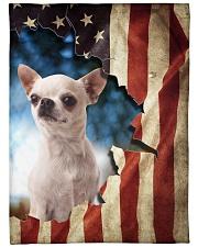"Beautiful Chihuahua Large Fleece Blanket - 60"" x 80"" front"