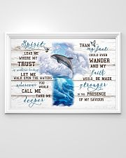 Beautiful dolphins 36x24 Poster poster-landscape-36x24-lifestyle-02
