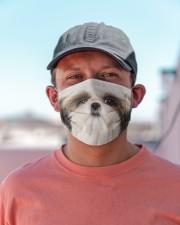 Amazing Shih tzu Cloth face mask aos-face-mask-lifestyle-06
