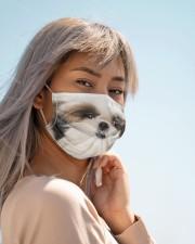 Amazing Shih tzu Cloth face mask aos-face-mask-lifestyle-19