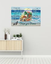 Turtles - I hope you dance 36x24 Poster poster-landscape-36x24-lifestyle-01