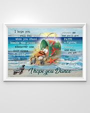 Turtles - I hope you dance 36x24 Poster poster-landscape-36x24-lifestyle-02
