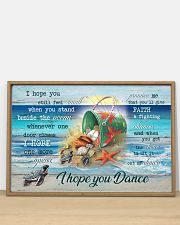 Turtles - I hope you dance 36x24 Poster poster-landscape-36x24-lifestyle-03