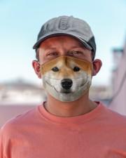 Amazing  Shiba Inu Cloth face mask aos-face-mask-lifestyle-06