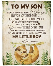 """To my son - You are always my little boy Large Fleece Blanket - 60"""" x 80"""" front"""
