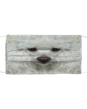 Amazing Poodle Cloth face mask front