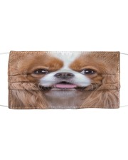 Amazing Cavalier King Charles Spaniel Cloth face mask front