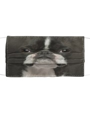 Amazing Boston terrier Cloth face mask front