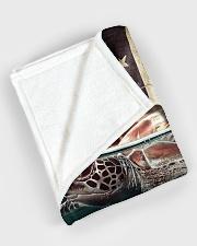 """Beautiful turtle Large Fleece Blanket - 60"""" x 80"""" aos-coral-fleece-blanket-60x80-lifestyle-front-08"""