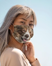 Amazing Collie Cloth face mask aos-face-mask-lifestyle-19