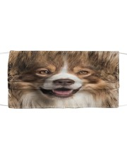 Amazing Collie Cloth face mask front