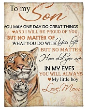 """To my son - You will always my little boy Small Fleece Blanket - 30"""" x 40"""" front"""