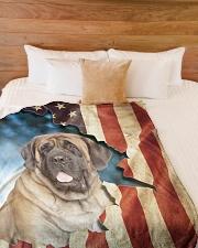 "Beautiful English Mastiff Large Fleece Blanket - 60"" x 80"" aos-coral-fleece-blanket-60x80-lifestyle-front-02"