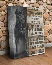Cane corso - I am your friend 11x14 Gallery Wrapped Canvas Prints aos-canvas-pgw-11x14-lifestyle-front-18