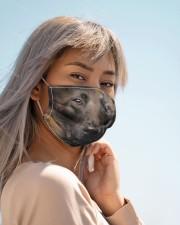 Amazing Belgian Malinois Cloth face mask aos-face-mask-lifestyle-19