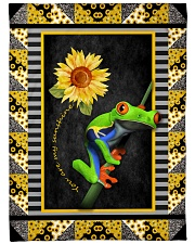 """Frog - You are my sunshine Large Fleece Blanket - 60"""" x 80"""" front"""