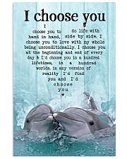 I choose you 24x36 Poster front