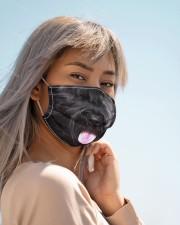 Amazing Schnauzers Cloth face mask aos-face-mask-lifestyle-19