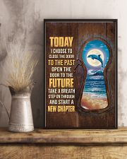 Today I choose to start a new chapter 24x36 Poster lifestyle-poster-3