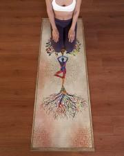 I love yoga Yoga Mat 24x70 (vertical) aos-yoga-mat-lifestyle-24