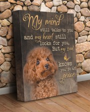 My mind still talks to you - Poodle 11x14 Gallery Wrapped Canvas Prints aos-canvas-pgw-11x14-lifestyle-front-18