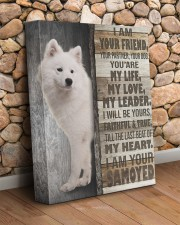 Samoyed- I am your friend 11x14 Gallery Wrapped Canvas Prints aos-canvas-pgw-11x14-lifestyle-front-18