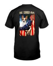 Rat Terrier papa Classic T-Shirt back