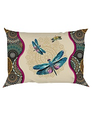 Dragonfly - I'll always be with you Rectangular Pillowcase back