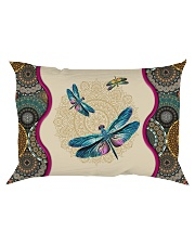 Dragonfly - I'll always be with you Rectangular Pillowcase front