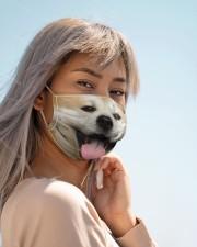 Amazing Akita Cloth face mask aos-face-mask-lifestyle-19