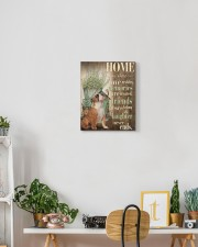 English bulldog - Home 11x14 Gallery Wrapped Canvas Prints aos-canvas-pgw-11x14-lifestyle-front-03
