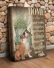 English bulldog - Home 11x14 Gallery Wrapped Canvas Prints aos-canvas-pgw-11x14-lifestyle-front-18