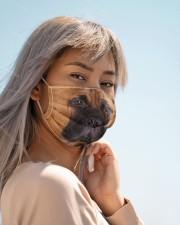 Amazing English Mastiff Cloth face mask aos-face-mask-lifestyle-19