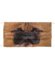 Amazing English Mastiff Cloth face mask front