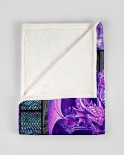 "I freaking love dragons Small Fleece Blanket - 30"" x 40"" aos-coral-fleece-blanket-30x40-lifestyle-front-17"
