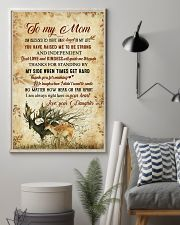 To my mom - I'm always right here in your heart 11x17 Poster lifestyle-poster-1