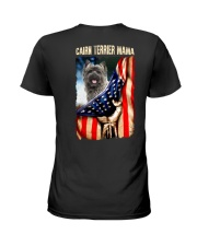 Cairn Terrier mama Ladies T-Shirt back