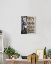 Pit Bull - Before I met you 11x14 Gallery Wrapped Canvas Prints aos-canvas-pgw-11x14-lifestyle-front-03