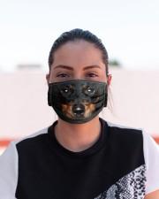 Amazing Dachshund Cloth face mask aos-face-mask-lifestyle-03
