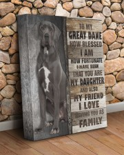 Great Dane - You are my daughter 11x14 Gallery Wrapped Canvas Prints aos-canvas-pgw-11x14-lifestyle-front-18