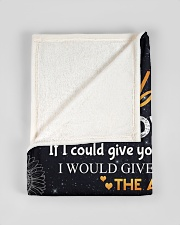 """To my husband - You are special to me Small Fleece Blanket - 30"""" x 40"""" aos-coral-fleece-blanket-30x40-lifestyle-front-17"""