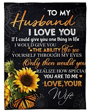 """To my husband - You are special to me Small Fleece Blanket - 30"""" x 40"""" front"""
