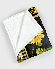 """Turtle - You are my sunshine Large Fleece Blanket - 60"""" x 80"""" aos-coral-fleece-blanket-60x80-lifestyle-front-08"""