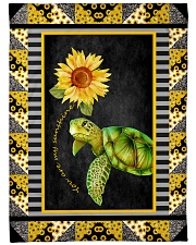"""Turtle - You are my sunshine Large Fleece Blanket - 60"""" x 80"""" front"""