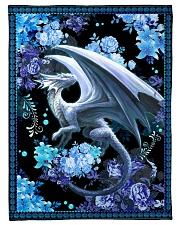 "I love dragons Small Fleece Blanket - 30"" x 40"" front"