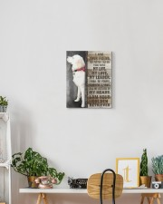 Custom Golden retriever - I am your friend 11x14 Gallery Wrapped Canvas Prints aos-canvas-pgw-11x14-lifestyle-front-03