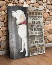 Custom Golden retriever - I am your friend 11x14 Gallery Wrapped Canvas Prints aos-canvas-pgw-11x14-lifestyle-front-18