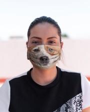 Amazing Heeler Cloth face mask aos-face-mask-lifestyle-03